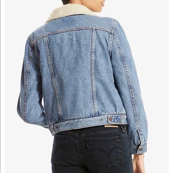 Women's Levi's Jean Sherpa Jacket